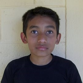 Melvin as a child at the School of Hope